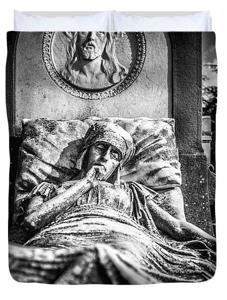 Cemetery Of Mantova Duvet Cover