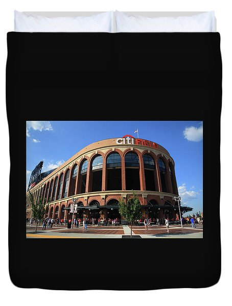 Citi Field - New York Mets 3 Duvet Cover