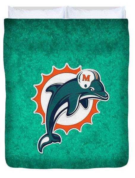 Miami Dolphins Duvet Cover