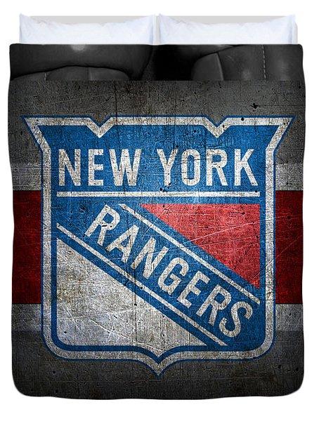 New York Rangers Duvet Cover