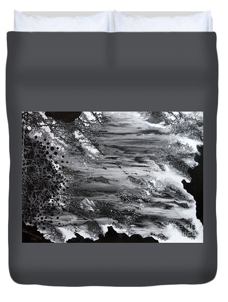 Flowing Water Duvet Cover