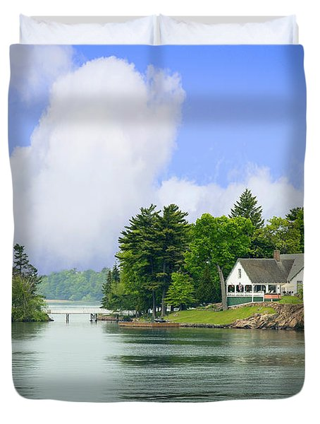 1000 Island Waterway Duvet Cover
