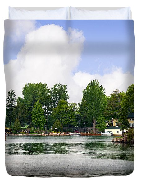 1000 Islands Homes Duvet Cover