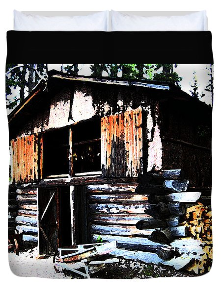 1000076 Salmon Smoke House Duvet Cover