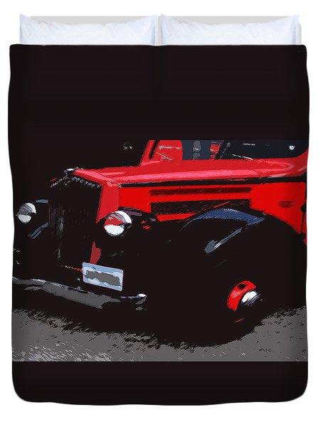 1000406008 Montana Tour Bus Duvet Cover