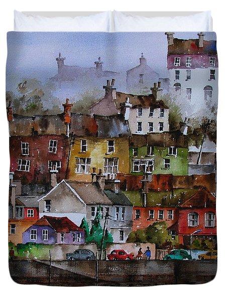 107 Windows Of Kinsale Co Cork Duvet Cover