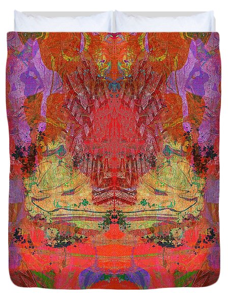 1074 Abstract Thought Duvet Cover by Chowdary V Arikatla