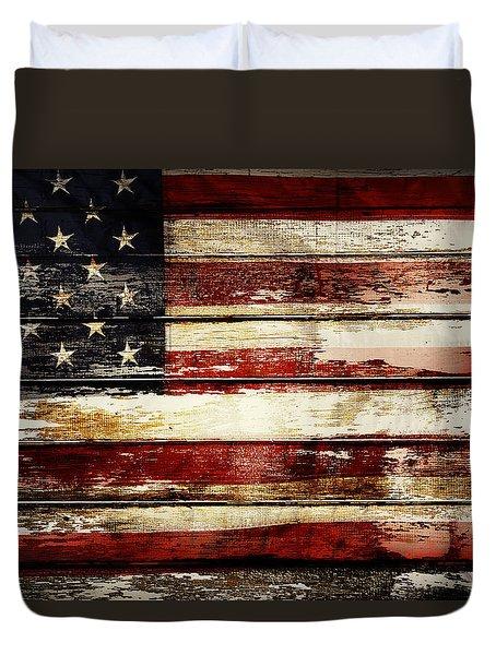American Flag 33 Duvet Cover
