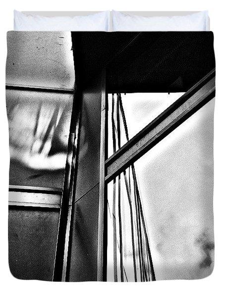 Windows 2 Duvet Cover by Jason Michael Roust