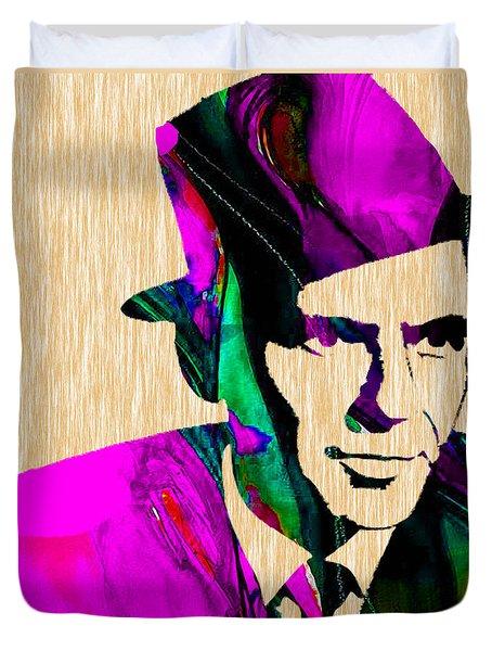Frank Sinatra Duvet Cover