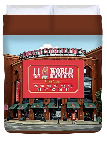 11 Time World Champion St Louis Cardnials Dsc01294 Duvet Cover