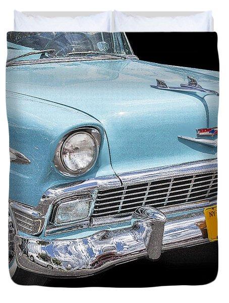 1956 Chevrolet Bel Air Convertible Duvet Cover