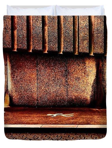 Urban Wall B Duvet Cover by Jason Michael Roust