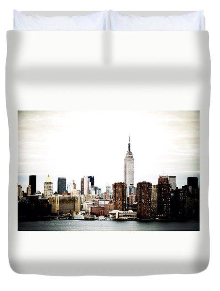 Manhattan Duvet Cover by Natasha Marco