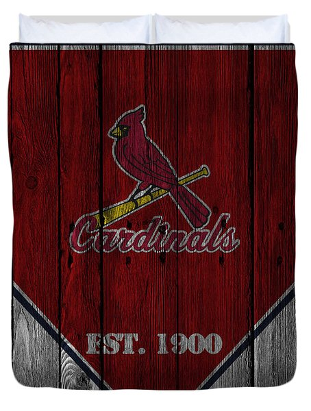 St Louis Cardinals Duvet Cover