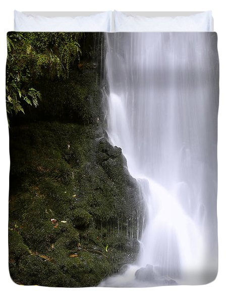 Waterfall Duvet Cover by Les Cunliffe