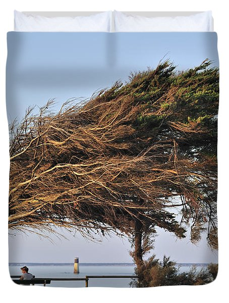 Duvet Cover featuring the photograph 120920p152 by Arterra Picture Library