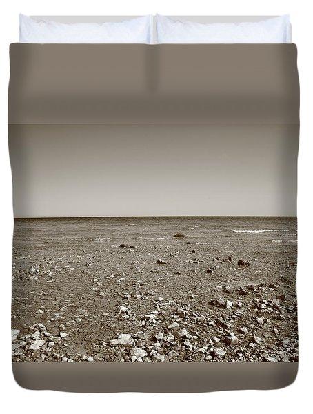 Lake Huron Duvet Cover by Frank Romeo