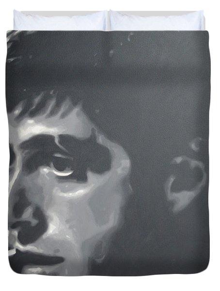 Scarface Duvet Cover by Luis Ludzska