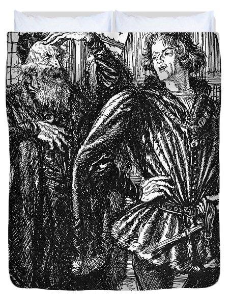 Shakespeare Henry Iv Duvet Cover