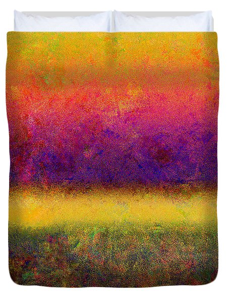1395 Abstract Thought Duvet Cover by Chowdary V Arikatla
