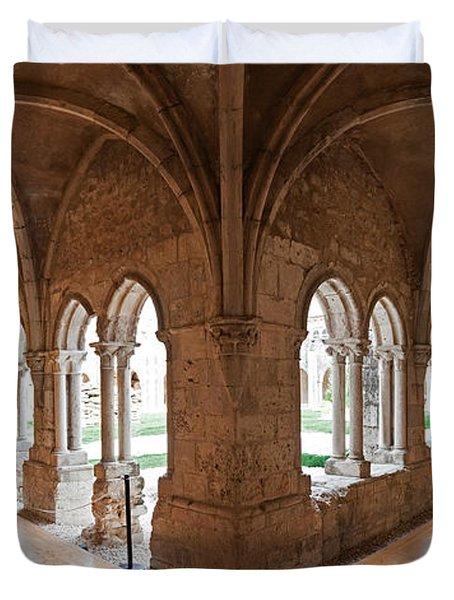 13th Century Gothic Cloister Duvet Cover by Jose Elias - Sofia Pereira