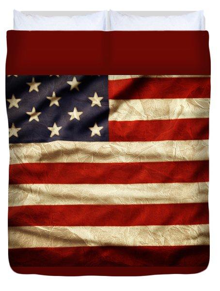 American Flag 59 Duvet Cover