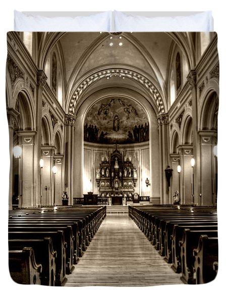 Church Of The Assumption Duvet Cover