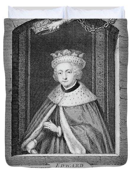 1400s 1480s Portrait King Edward V Duvet Cover