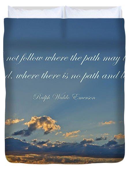 149- Ralph Waldo Emerson Duvet Cover