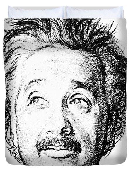 Albert Einstein (1879-1955) Duvet Cover