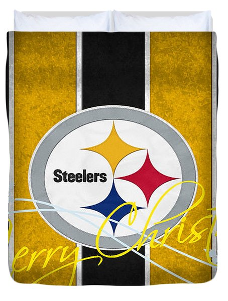 Pittsburgh Steelers Duvet Cover