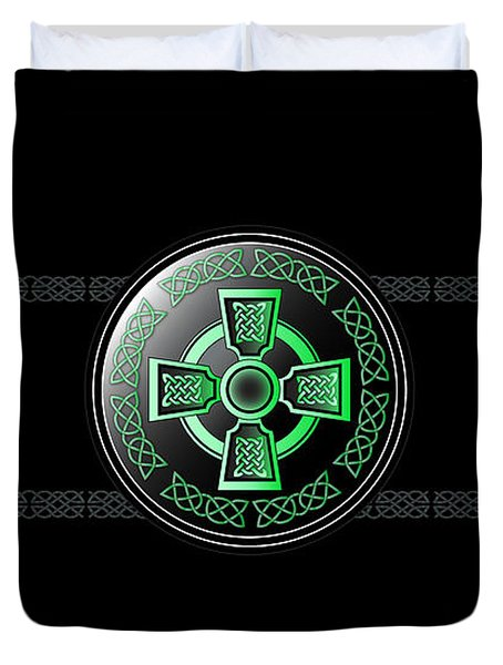 Celtic Cross Duvet Cover