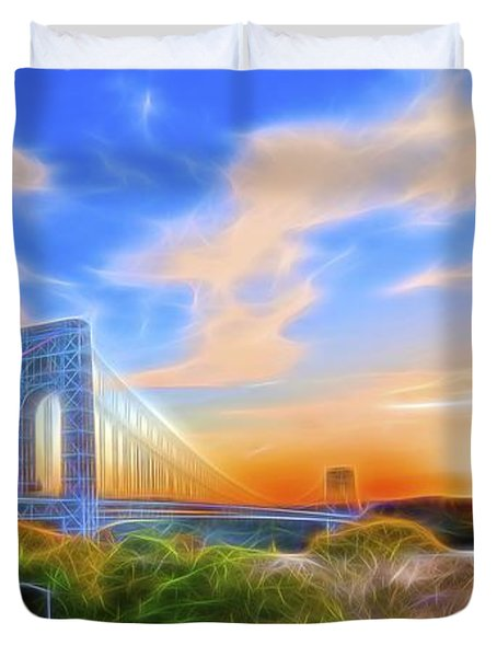 Sunset Dream Duvet Cover