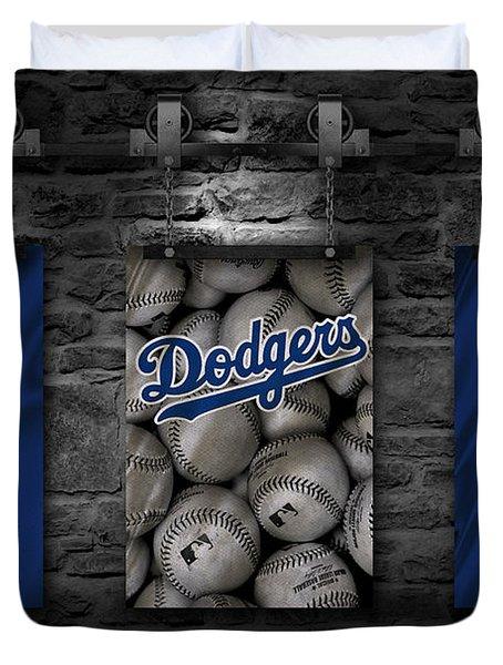 Los Angeles Dodgers Duvet Cover