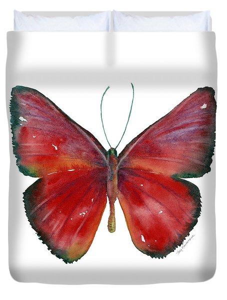 16 Mesene Rubella Butterfly Duvet Cover