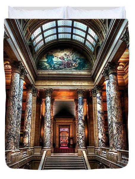 Minnesota State Capitol  Duvet Cover