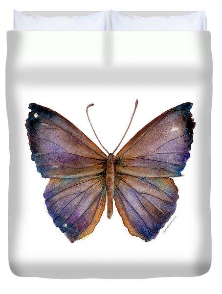18 Purple Pandemos Duvet Cover by Amy Kirkpatrick