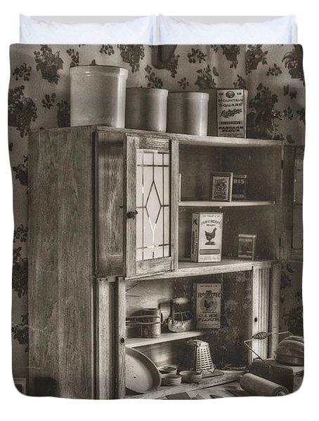 1800s Kitchen Duvet Cover