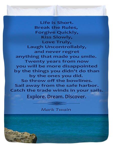 186- Mark Twain Duvet Cover