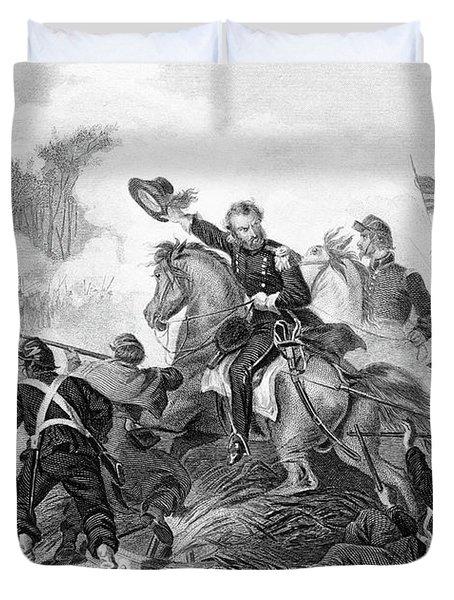 1860s August 1861 Battle Of Wilsons Duvet Cover