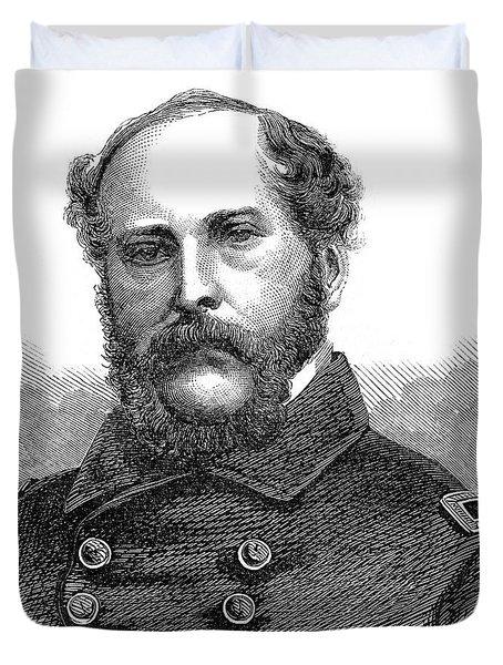 1860s Portrait Captain John A Winslow Duvet Cover