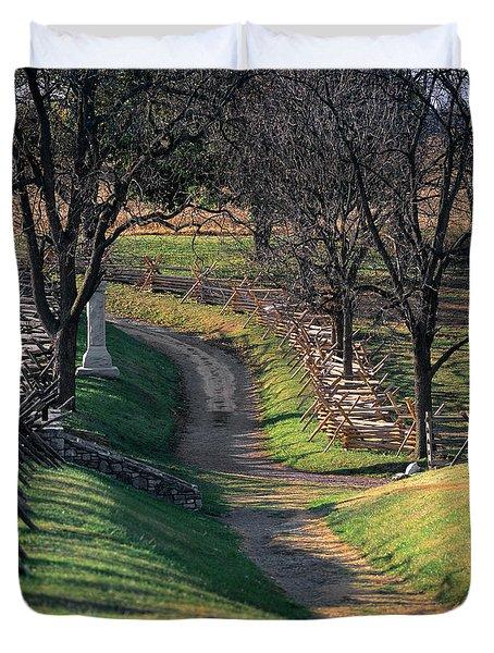 1862 September 17th Bloody Lane Battle Duvet Cover