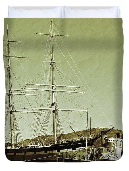 1886 Balclutha Duvet Cover