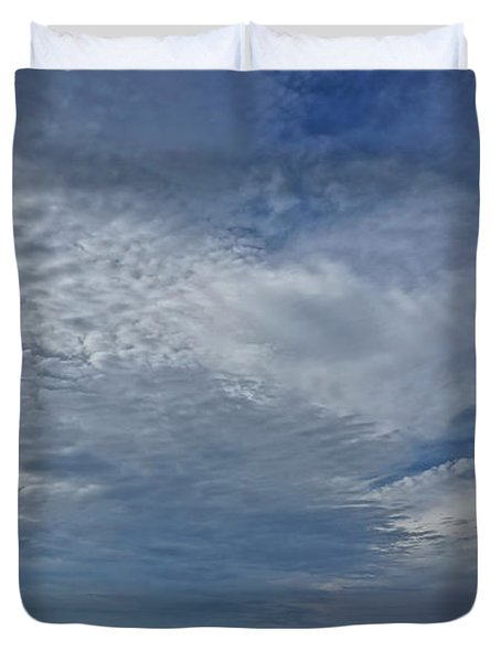 18th Birthday Sky Duvet Cover