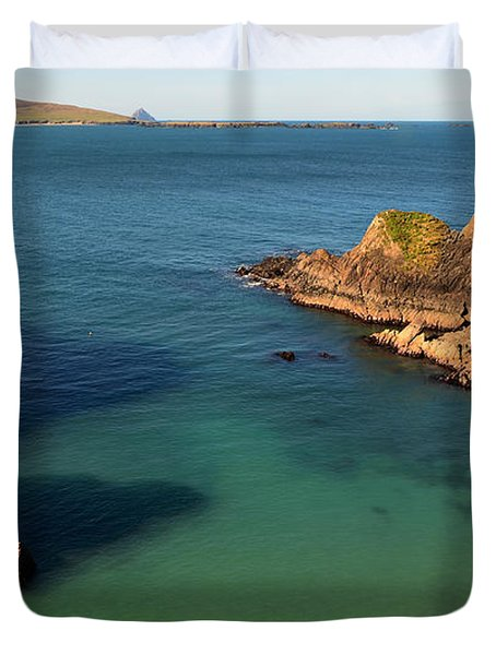 Blasket Islands Duvet Cover