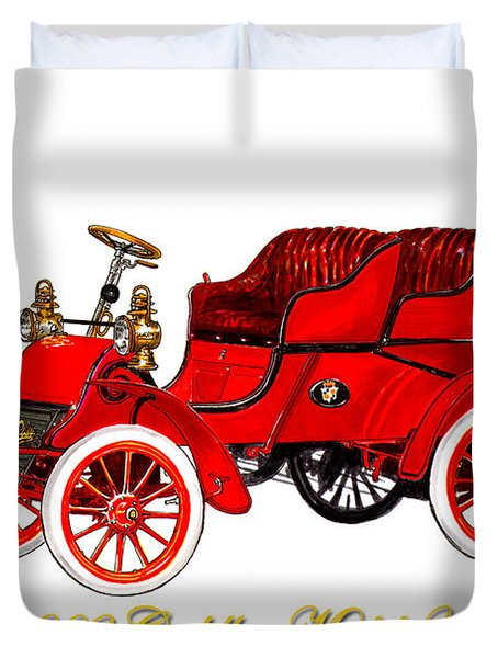1902 Cadillac Model A Runabout Duvet Cover