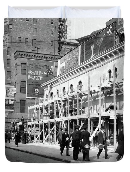 1915 1916 Haymarket Theater Becomes Duvet Cover