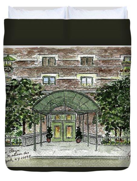 1919 Madison Avenue-harlem Duvet Cover