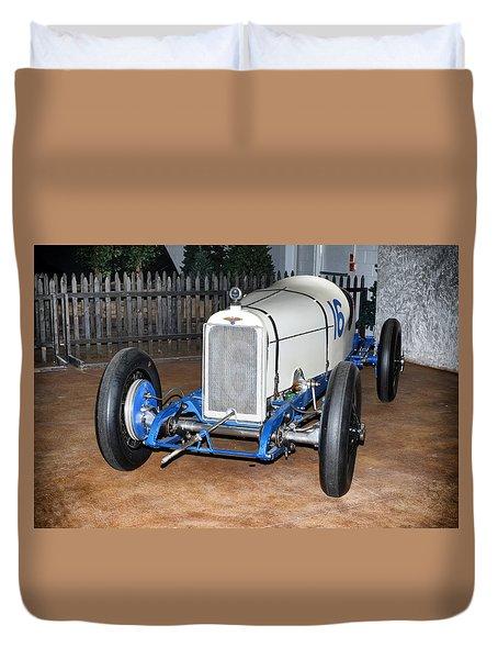 1921 Duesenberg Race Car Duvet Cover